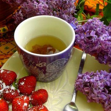 Herbatka z bzu lilaka