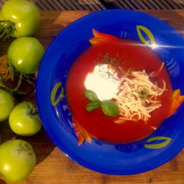 Pieczona pomidorowa, smak końca lata