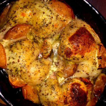 Kurczak pieczony w kefirze