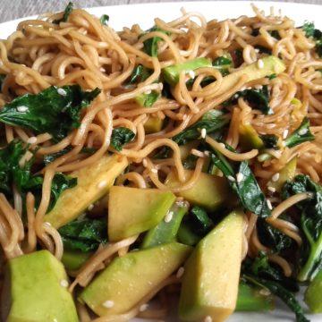Bardzo szybki obiad w tajskim stylu