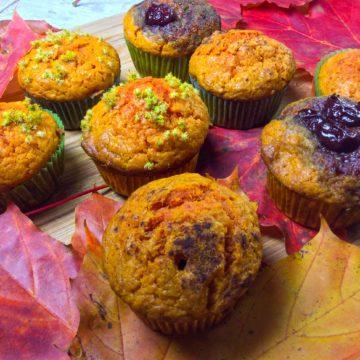 Muffinki z dyni, słoneczny deser