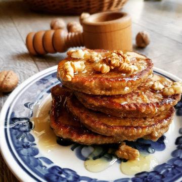 Placuszki bananowe bez glutenu