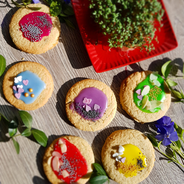 Kruche ciasteczka Wielkanocne